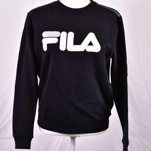 Fila Alexa Crewneck Logo Sweatshirt, Black